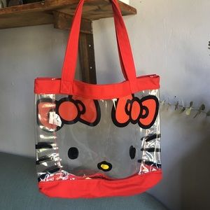 LOUNGEFLY Clear Tote Bag